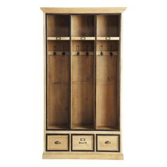 Mobile da ingresso in legno  NATURALISTE - Maison du Monde