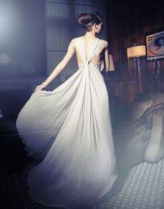beautiful #dress by Dirk Messner   #fashion  #photography