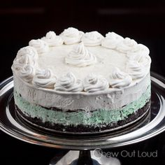 Ice Cream Cake - http://www.chewoutloud.com/2013/07/08/ice-cream-cake-with-dqfudgy-crunchies-and-giveaway/