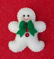 Resultado de imagen para porta cubiertos navideños de fieltro