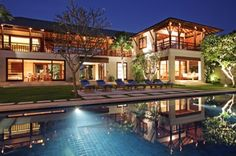 Villa Sabana, meaning 'special' in the Indonesian language, rests beside the rice terraces and a small jungle-clad river valley, just two kilometres from the beach in a peaceful Balinese village near Canggu.