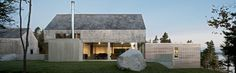 Martin-Lancaster House / MacKay-Lyons Sweetapple Architects    Gabled roof with square wings.