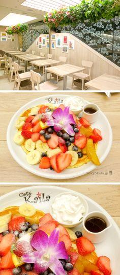 TOKYO : PANCAKES SHIBUYA  ++++ Cafe Kaila