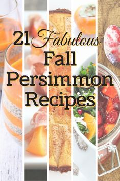 Here are some fresh and creative ways to enjoy the fall persimmon harvest.