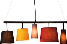 Lámpara de techo Parecchi Colore 100cm