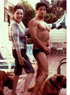 Jackie & Sly Stallone