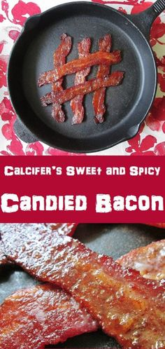 Calcifer's Sweet and Spicy Candied Bacon from Howl's Moving Castle! Spicy Candy, Breakfast Recipes, Dinner Recipes, Pancakes And Bacon, Candied Bacon, Dinner Themes, Sweet And Spicy, Original Recipe, Studio Ghibli