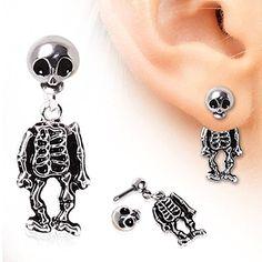 Buy Your Skeleton Dangle Earrings NOW!!