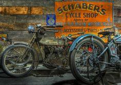 Vintage Harley-Davidson...