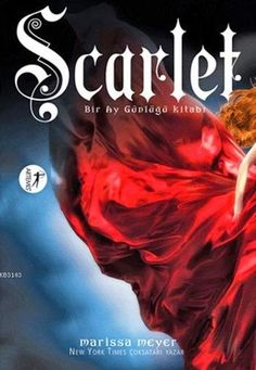 Turkish edition of SCARLET by Marissa Meyer