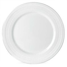 """Lenox Tin Can Alley 9"""" Four Degree Accent Plate (Set of 4) Color: White"""