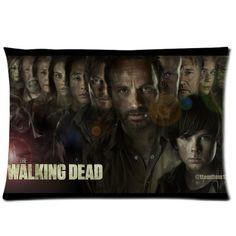 Amy Like Pillowcase/Kissenbezüge The Walking Dead Zippered Pillowcase/Kissenbezüge 20*30 inches (Twin sides) Season 4 Pillow case/Kissenbezüge Cover