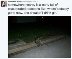 """When you get a bit carried away at a party: 