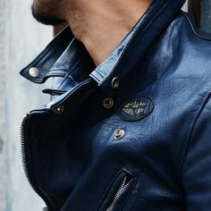 Jackets certainly are a very important component to every single man's set of clothes. Men will need outdoor jackets for a variety of occasions as well as some varying weather conditions Men's Leather Jacket, Vintage Leather Jacket, Biker Leather, Leather Men, Leather Jackets, Revival Clothing, Riders Jacket, Latest Mens Fashion, Men's Fashion