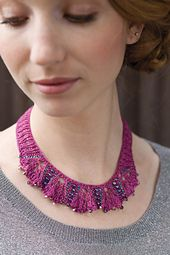 Ravelry: Hibisco Necklace pattern by Laura Nelkin