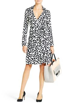 DVF | The New Jeanne Two wrap dress is a modern take on the timeless classic.   http://on.dvf.com/12RGVno