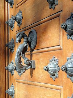 Door Knocker… Barcelona - by Arnim Schulz on Flickr.