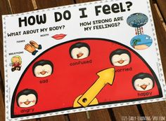 How Do I Feel?: An Emotions Chart  Are your kids learning how to talk about their feelings? Pop over to Liz's Early Learning Spot and grab this free emotions chart to help your little ones articulate what they're experiencing. It's not just about emotional types but also the intensity and how their body is physically reacting. You'll also find links to more free printables and ideas for helping children manage their own behaviour including these calming strategy cards.   Till next time…