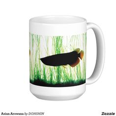 Asian Arowana Classic White Coffee Mug