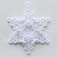FSL Snowflake Photo Ornament 7 - 5x7 | What's New | Machine Embroidery Designs | SWAKembroidery.com Ace Points Embroidery