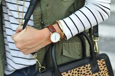 Daniel Wellington watch. Dapper St. Mawes via Peaches In A Pod blog.