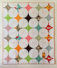 Points of Interest Quilt - Quilting Happines