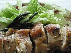 バジルの香りがいい♪鶏胸肉オーブン焼きの画像