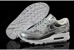 competitive price 34271 534b9 Nike Air Max 90 Womens Silver Color Online 2Dsrm, Price   74.00 - Women  Puma Shoes, Puma Shoes for Women