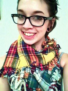 www.dapperadornments.etsy.com. Sweet plaid scarf! Come see this artist's work at EPiC Arts Festival.