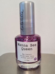 A personal fav, Wanna Be Queen was modeled after the super popular Lulabelle color Ruby-Dooby-Do! A mixture of fine fuchsia and lavender glitters, Wanna Be Queen is a not-to-be-missed glitter bomb! Exploding with color, Wanna Be Queen will have all those wanna be's wishing they had your color ;)