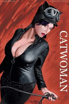 Envy as Catwoman