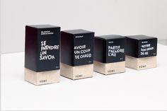 Unisex cosmetic packaging