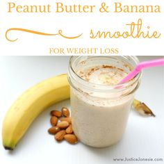 This peanut butter and banana smoothie is great for weight loss. The recipe uses just a few ingredients for a smoothie full of flavor and healthy nutrients.