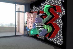 When Street Art meets Augmented Reality Generative Art, Augmented Reality, Baby Car Seats, Street Art, Art Pieces, Inspiration, Museum, Design, Biblical Inspiration