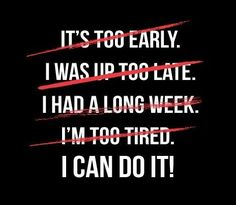 I can do it! #fitness #quotes #motivation