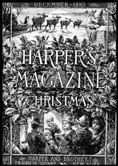harper's magazine christmas 1883 - Google Search