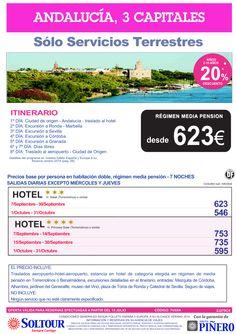 Andalucía 3 Capitales (Sólo Servicios Terrestres) Septiembre y Octubre ultimo minuto - http://zocotours.com/andalucia-3-capitales-solo-servicios-terrestres-septiembre-y-octubre-ultimo-minuto/