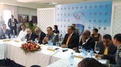 Revista El Cañero: Jefe PN reunido con directores de medios escritos ...
