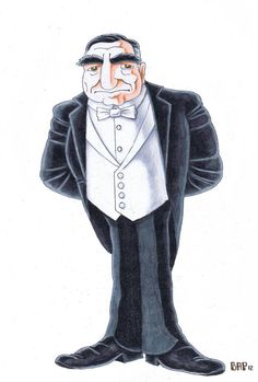 Downton Abbey: Mr. Carson by ~bpattullo on deviantART