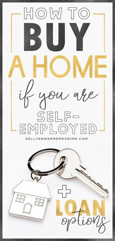 Great resource on how to buy a home when self employed. This guide on qualifying.Great resource on how to buy a home when self employed. This guide on qualifying for a mortgage when self employed provides you with the best self emp. Home Selling Tips, Home Buying Tips, Buying Your First Home, Home Buying Process, Dave Ramsey, Home Buying Checklist, Mom Planner, Mortgage Tips, Refinance Mortgage