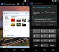 If you use Google's Chrome browser on your PC or Mac, Chrome Remote Desktop can be a lifesaver. Just install the Remote Desktop app on your computer's browser and set up a PIN; once it's done, you'll be able to view and control your desktop from any Android phone or tablet. It's a lightweight way to check on that file you're downloading or access that forgotten attachment when you're out and about. Price: Free   - PopularMechanics.com