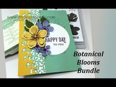Tips For Using The Botanical Blooms Bundle with the Botanical Builder Framelits. Includes the Perfect Pairings Sale-A-Bration set. www.mystamplady.com