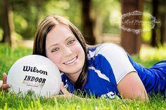 outdoor volley portrait