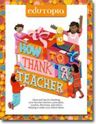 How to Thank a Teacher ~ Celebrating great teaching is at the heart of what we do at Edutopia, 365 days a year. That's why we decided to create our new Guide — How to Thank a Teacher — to provide thoughtful ways to thank educators year-round. Teachers: this is a great resource to pass along to those that give gifts.