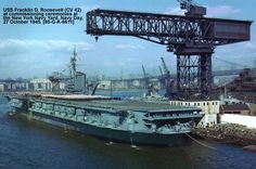 American Aircraft Carriers, Battle Ships, Roosevelt, World War Ii, Ww2, Iron, Military, Flat, Drawing