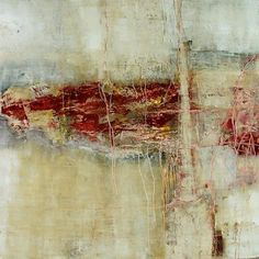 Jeane Myers mixed media painting