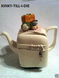 Paul Cardew, Signed, Novelty Teapot, Limited Edition (is this the only 1 on ebay