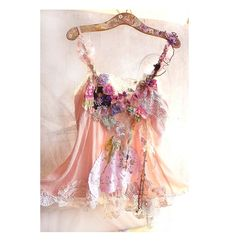Beautiful Art to Wear Dress/Tunic GIPSY MEADOW Boho Hippi Girl  Ethno Rustic Country. $186.00, via Etsy.