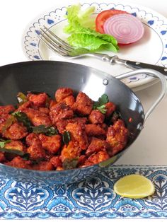 Spiced, Deep-fried Chicken — Chicken 65 Note: be sure to add chilies when you add the curry leaves Veg Recipes, Indian Food Recipes, Asian Recipes, Cooking Recipes, Recipies, Starter Recipes, Chinese Recipes, Chinese Food, Cooking Ideas