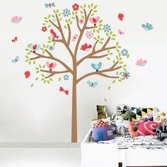 Adesivos de Parede Árvore Infantil - Grudado